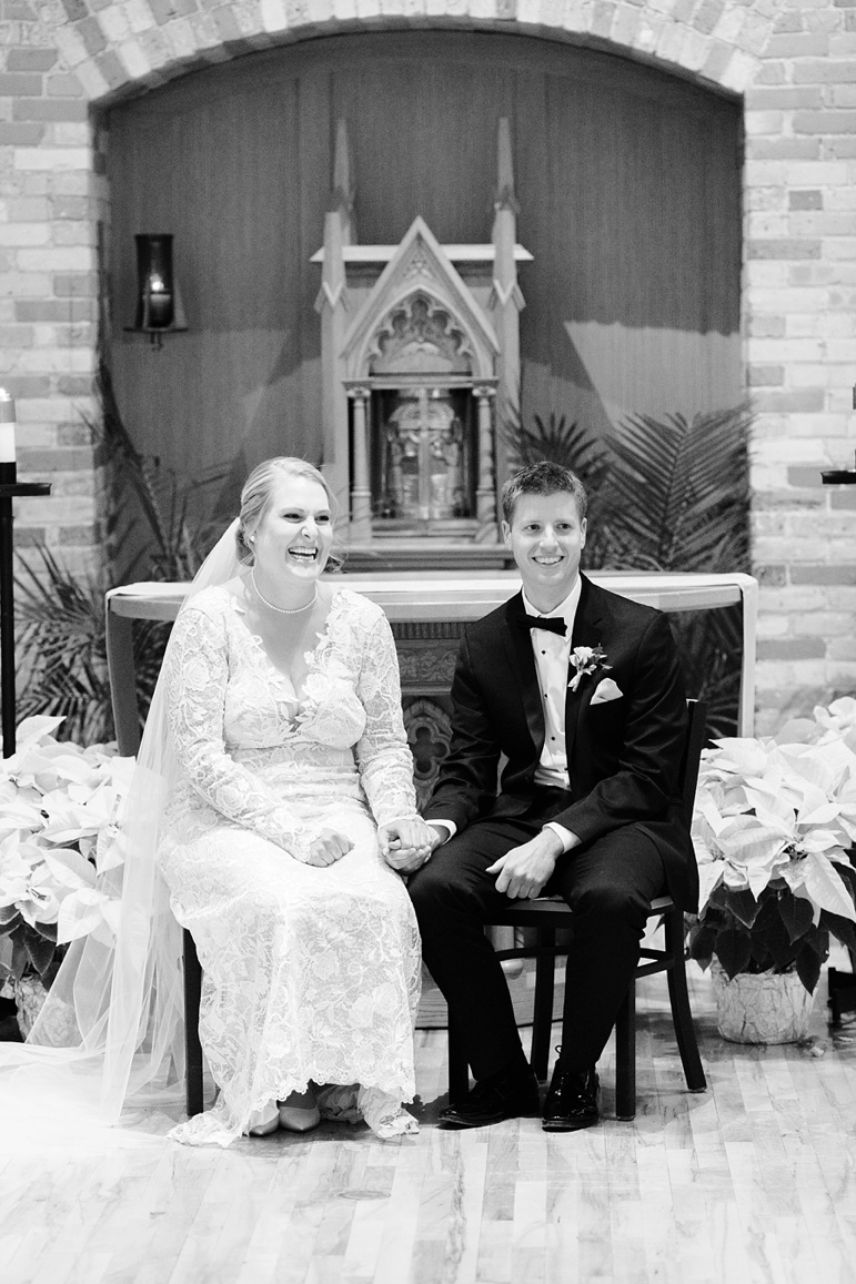 St. Norbert Old St. Joe's Wedding and Chateau De Pere Reception