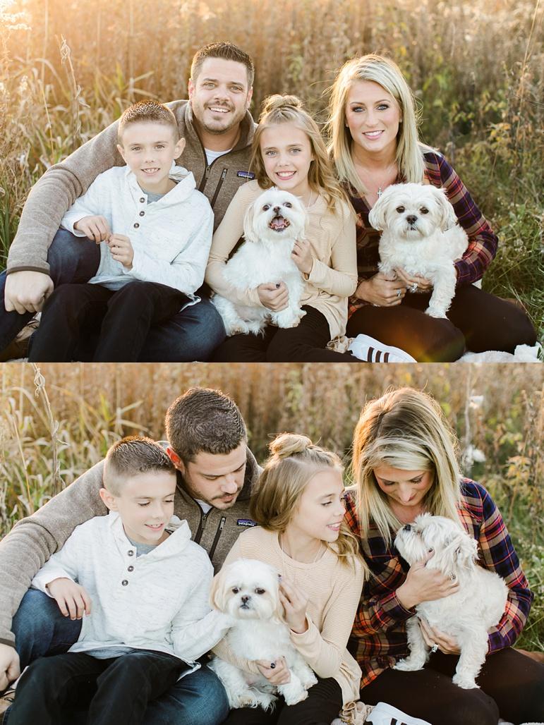 Green Bay WI Fall Family Photos