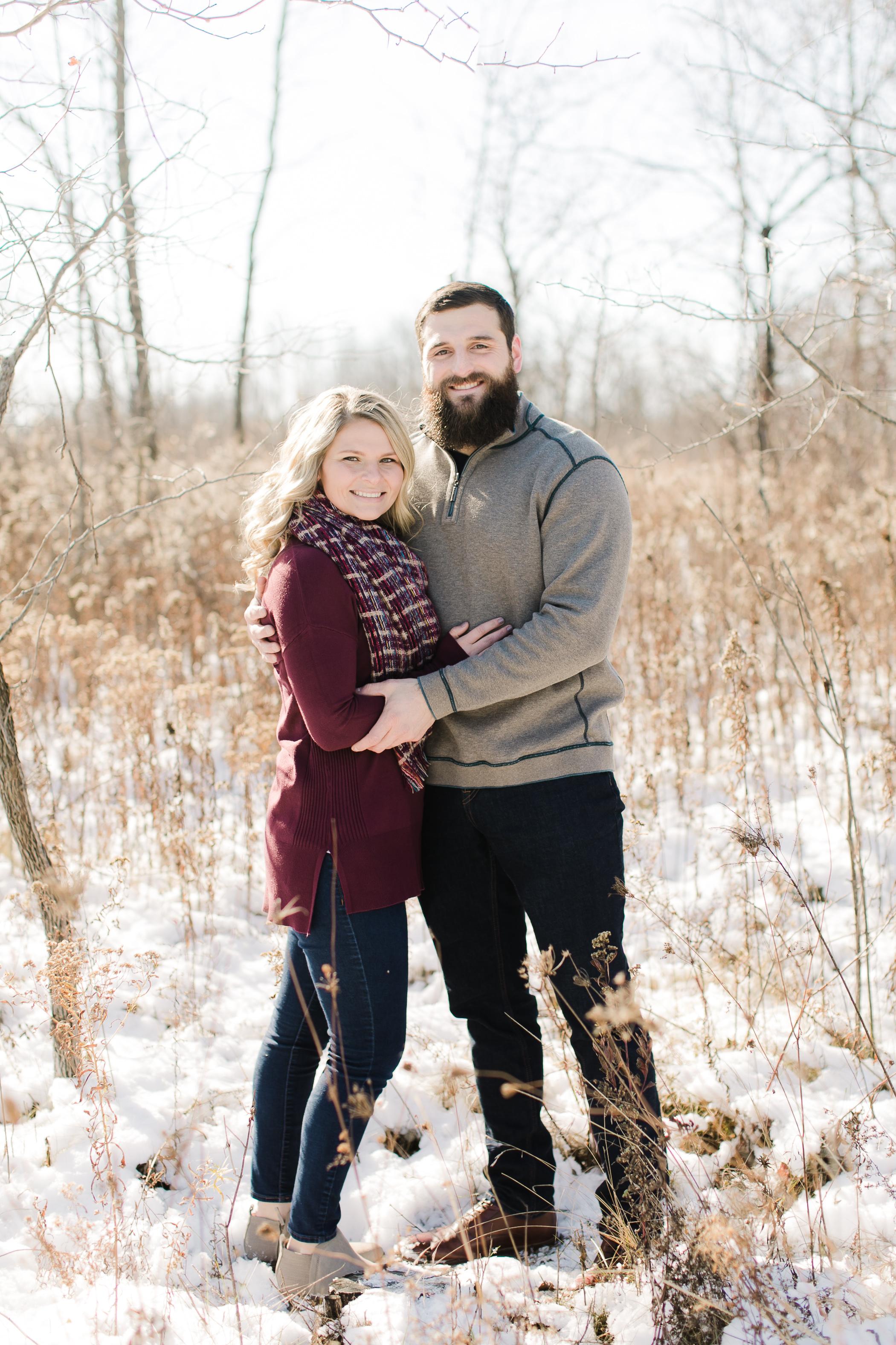 Milwaukee Winter Engagement Session