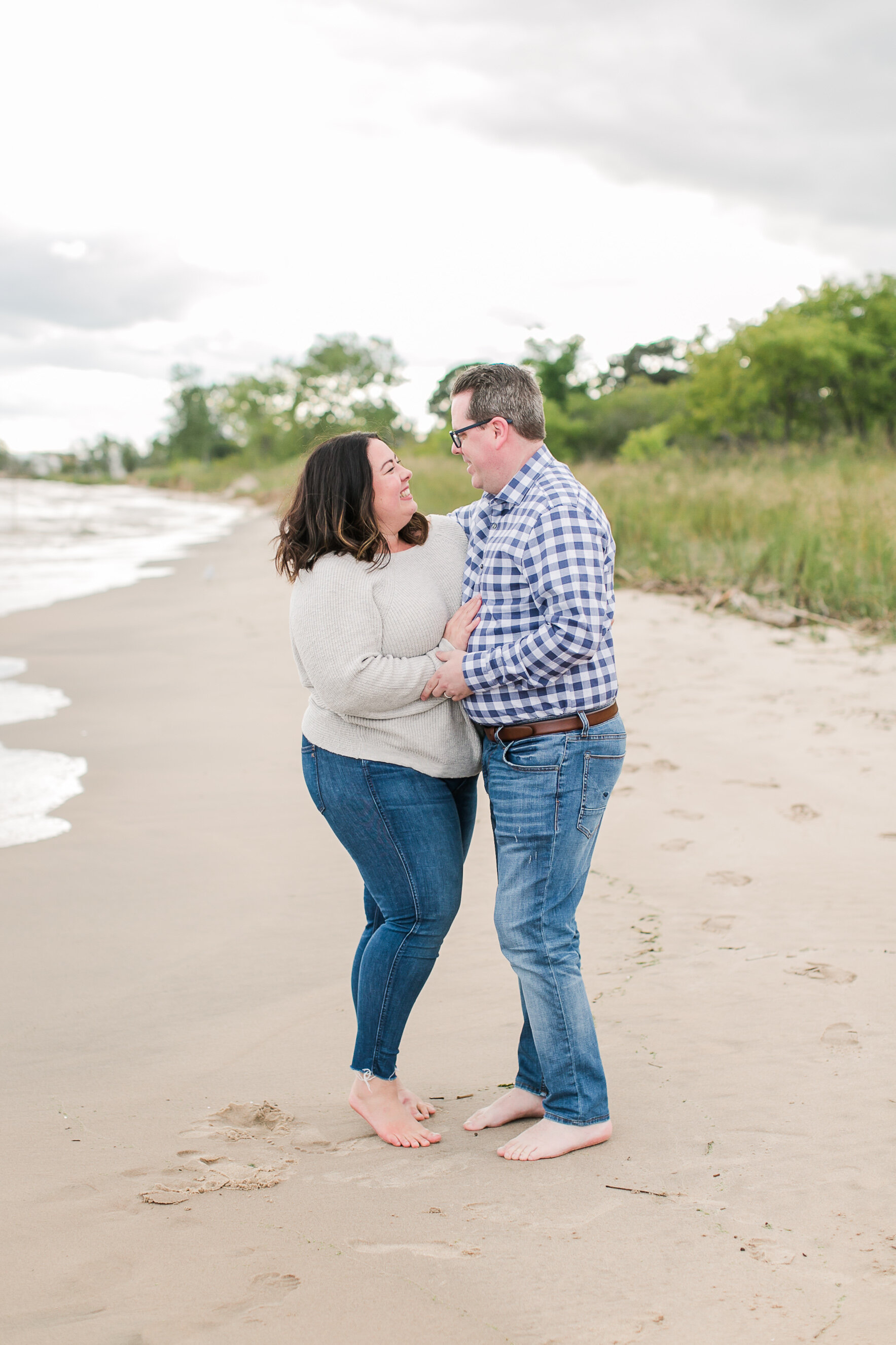 Wisconsin Beach Anniversary Session