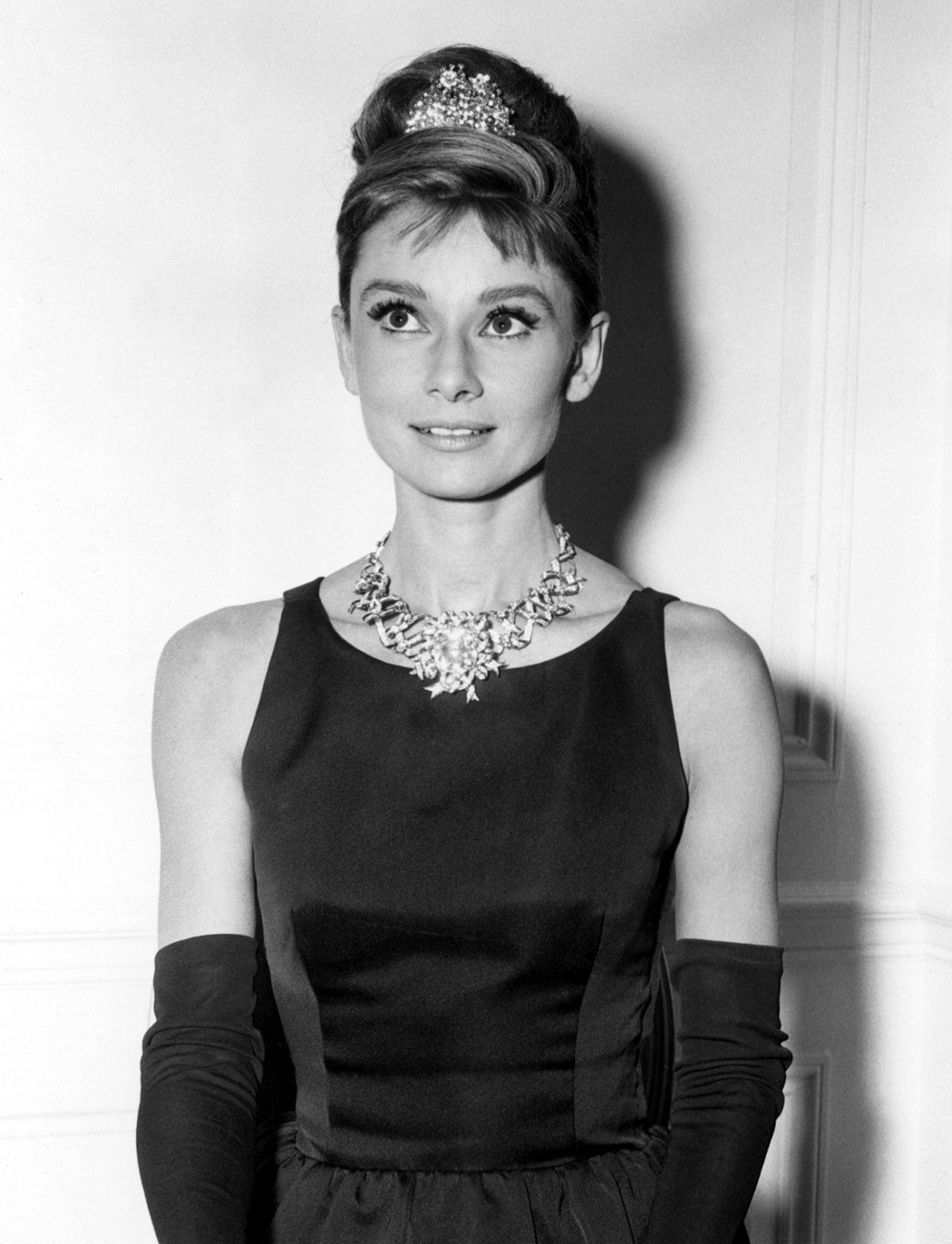 Audrey Hepburn Hair Crown