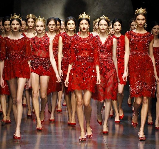 Dolce and Gabbana Winter 2014