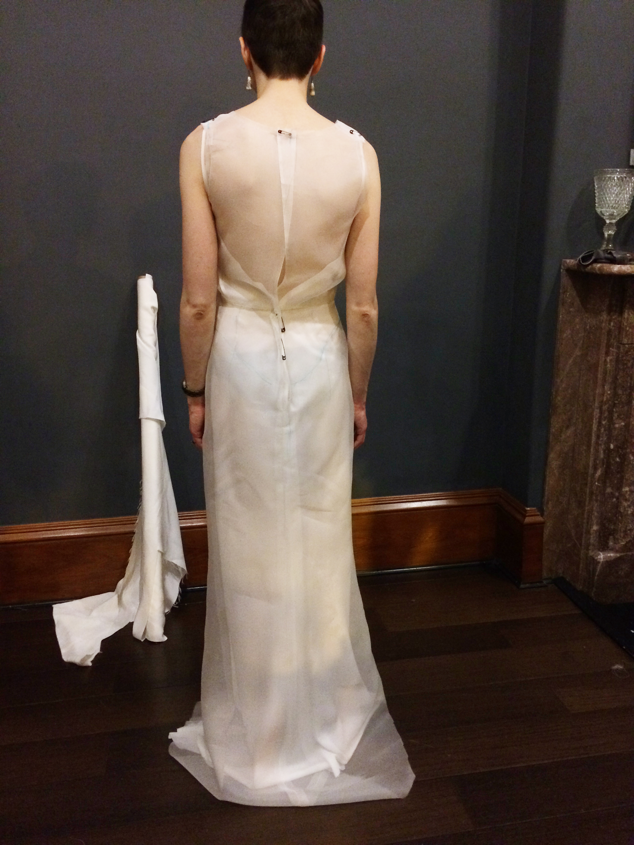 Art Deco Wedding Dress | Toile Fitting