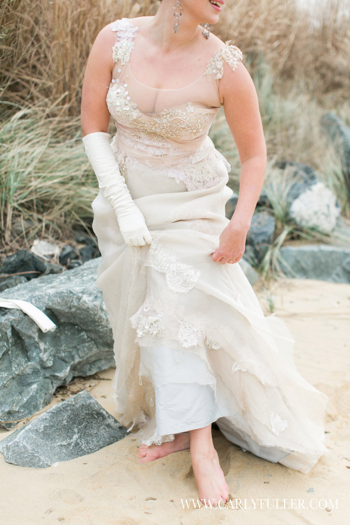 The Shipwreck Dress - Jill Andrews Gowns Couture