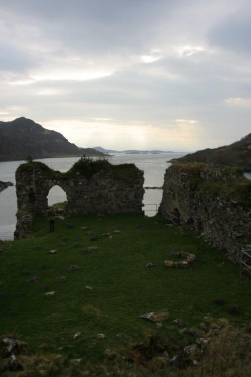 Ruins near Lochcarron