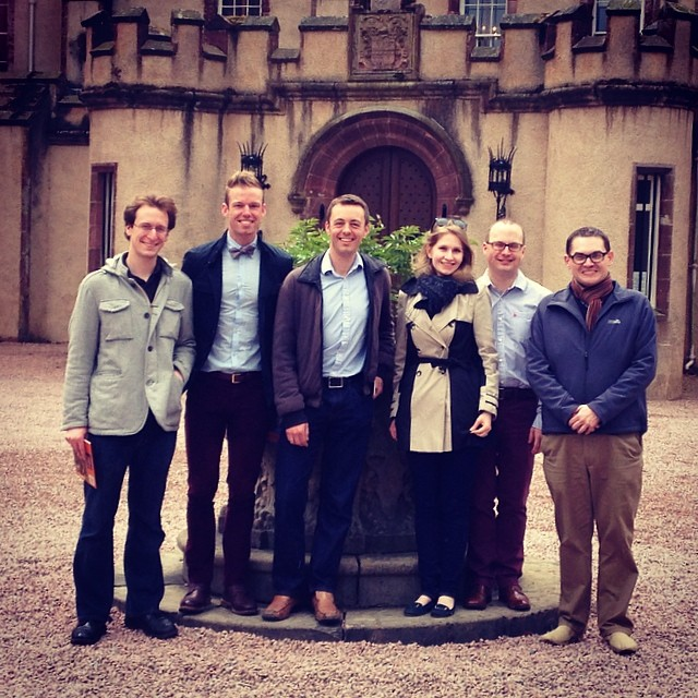 (From left) Me, John, Sam, Kirsten, Raemond, and Paul