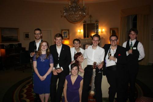 Most of the Culzean Castle crew.