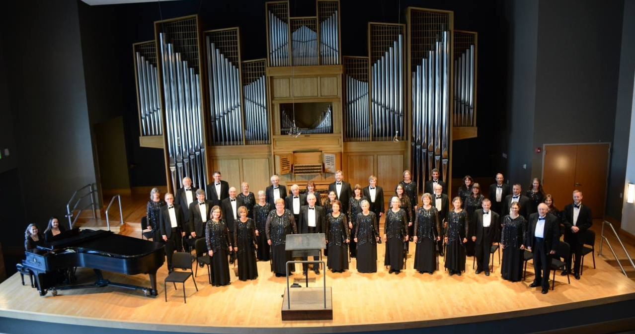 The Laudamus Chamber Chorale, conducted by Laura Gillett
