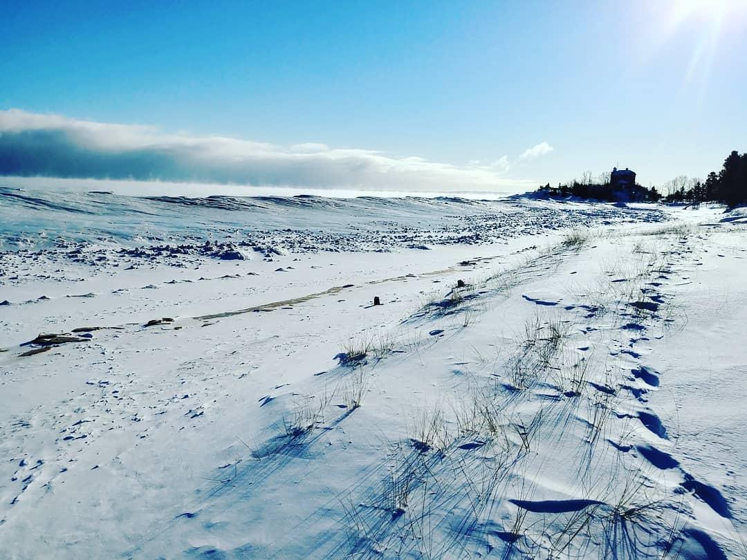 Winter in Marquette, MI.