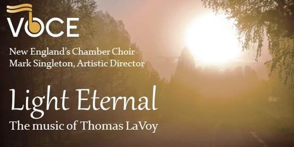 My residency with Voce will culminate in a full concert of my music on March 3rd.