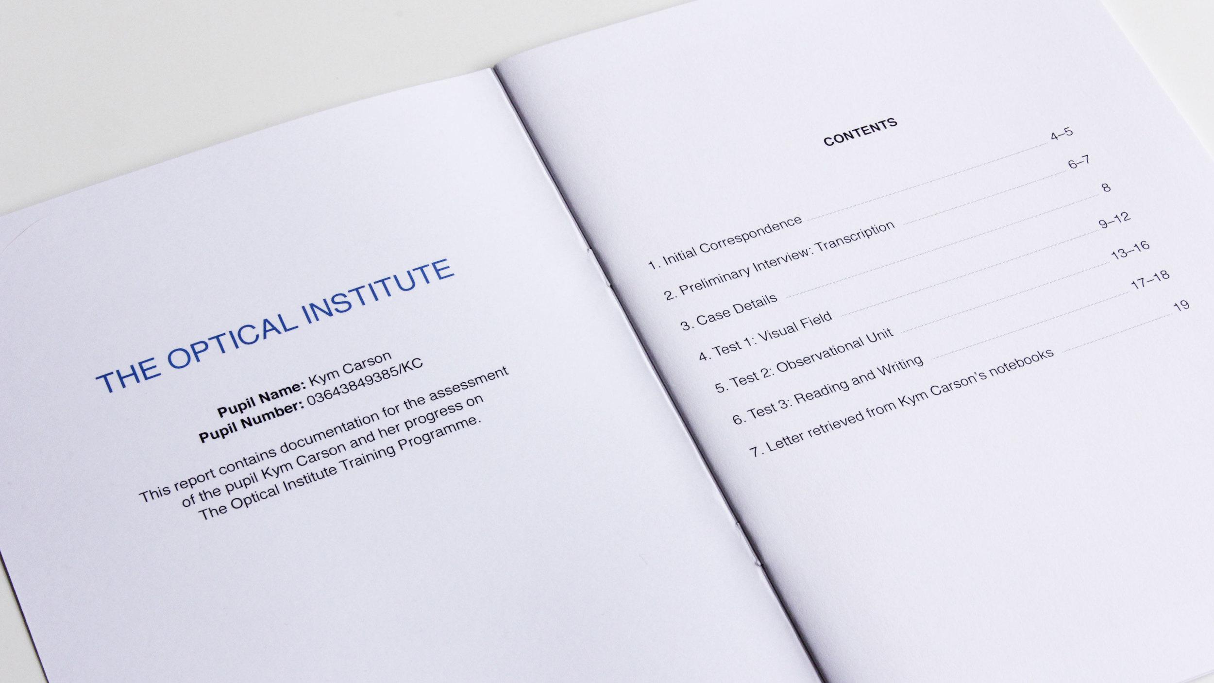 Report,  exhibition publication, 2015