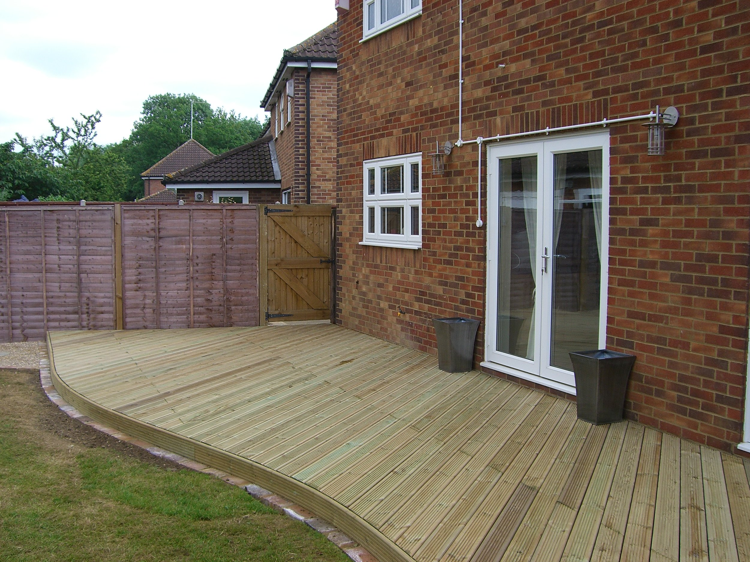 Decking, fencing & gates