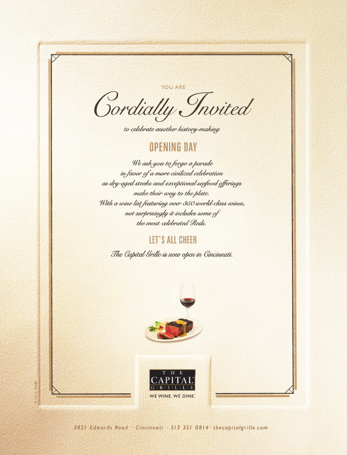 The Capital Grille- Print & Holiday Card