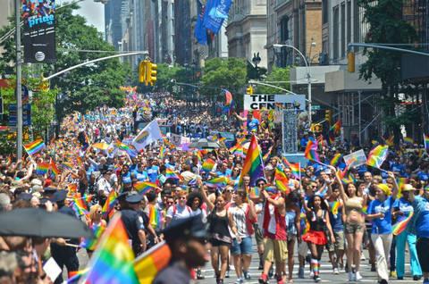Photo of the 2013 March via Brooklyn Vegan