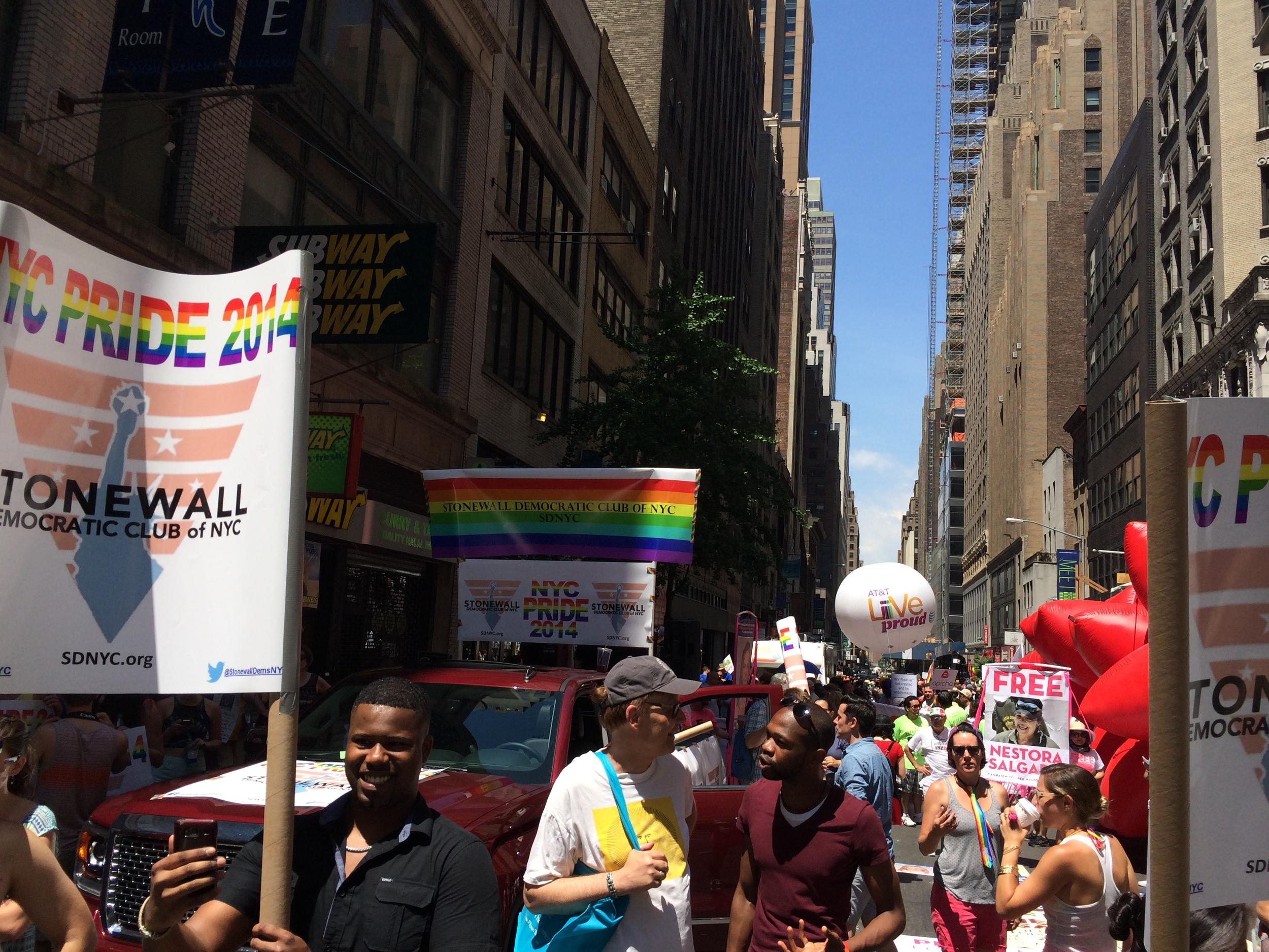 NYC Pride 2014 - SDNYC
