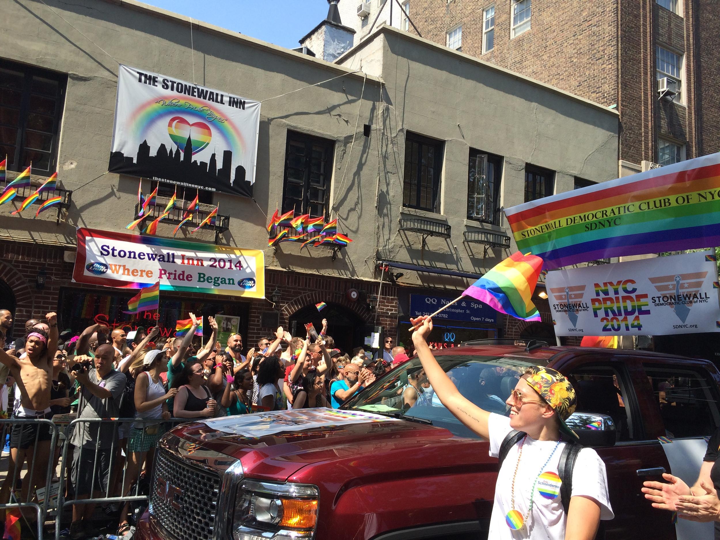 NYC Pride 2014 - SDNYC @ the Stonewall Inn