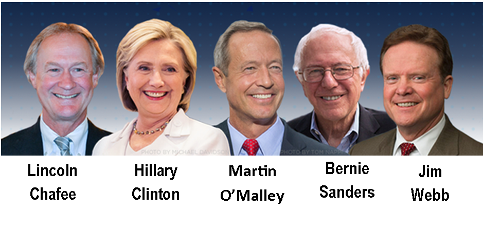 2016 Democratic Party presidential candidates