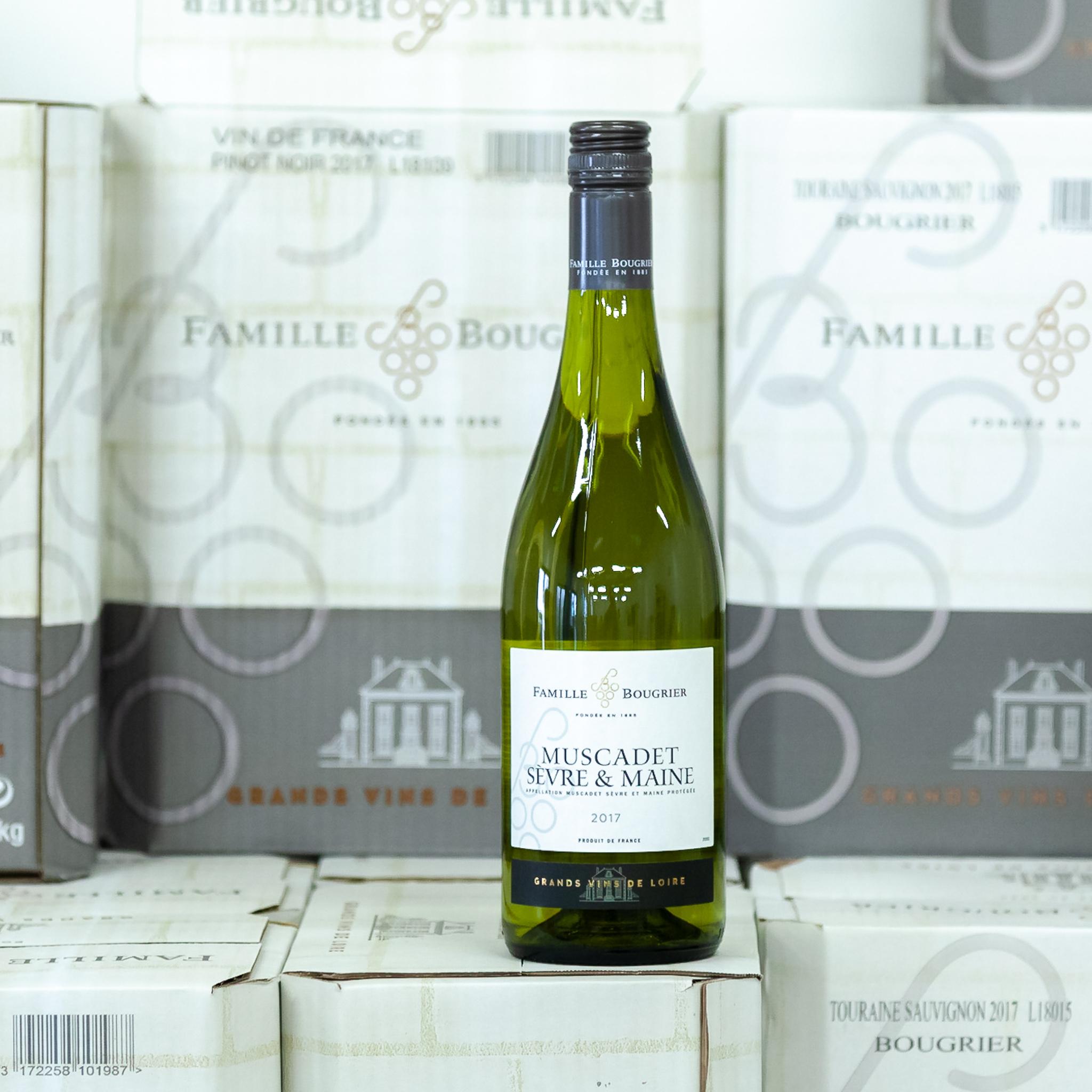 Muscadet Sèvre et Maine - Muscadet je ideální s mořskými plody. V Paříži je tradicí si vychutnávat ústřice se skleničkou vína Muscadet.