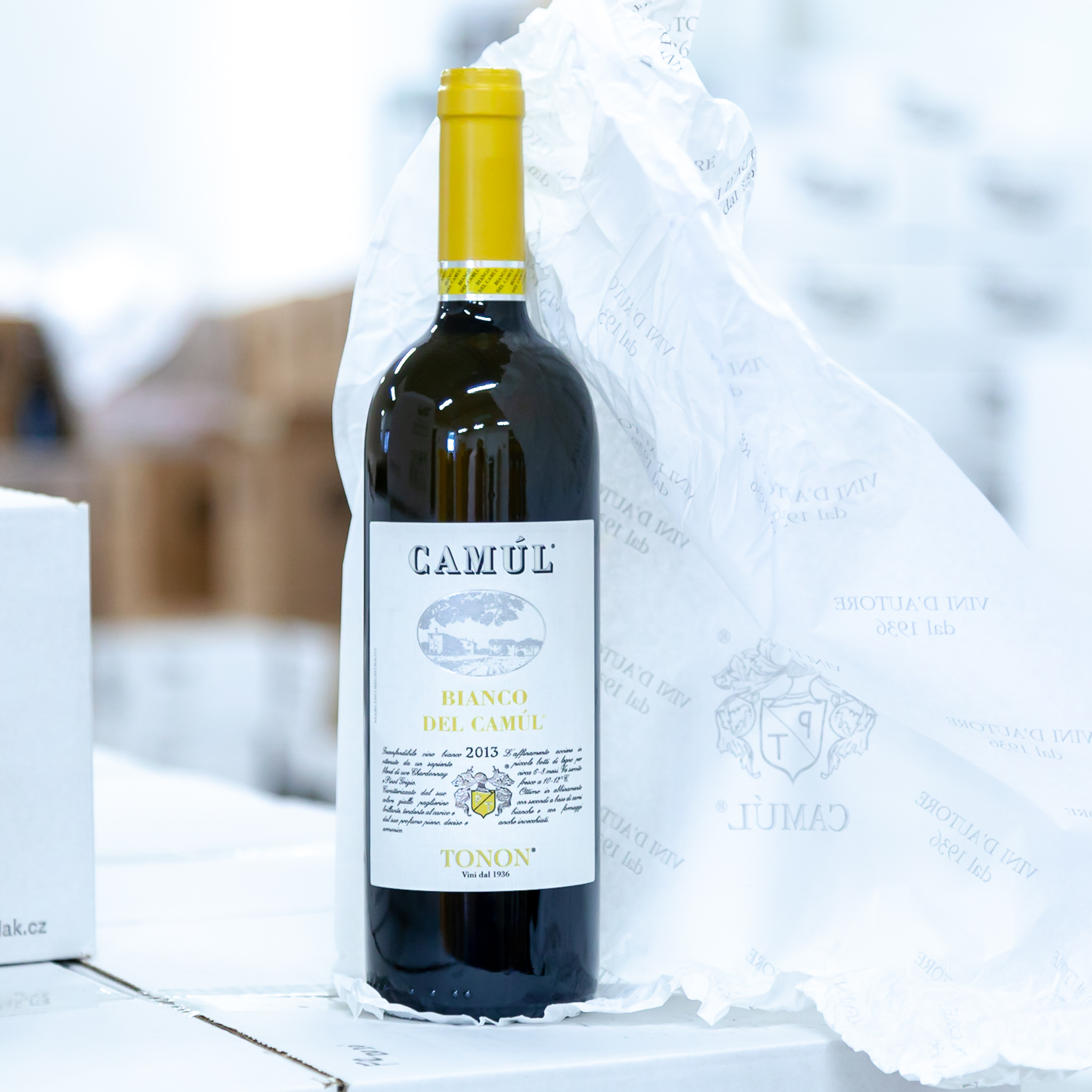 Špičková vína Camúl - - Bianco del Camúl- Cabernet Sauvignon