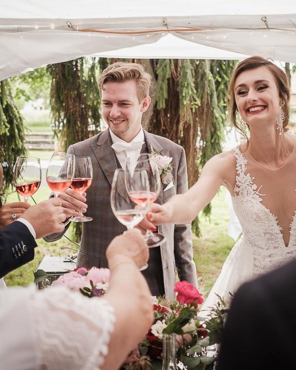 Víno na svatbu -
