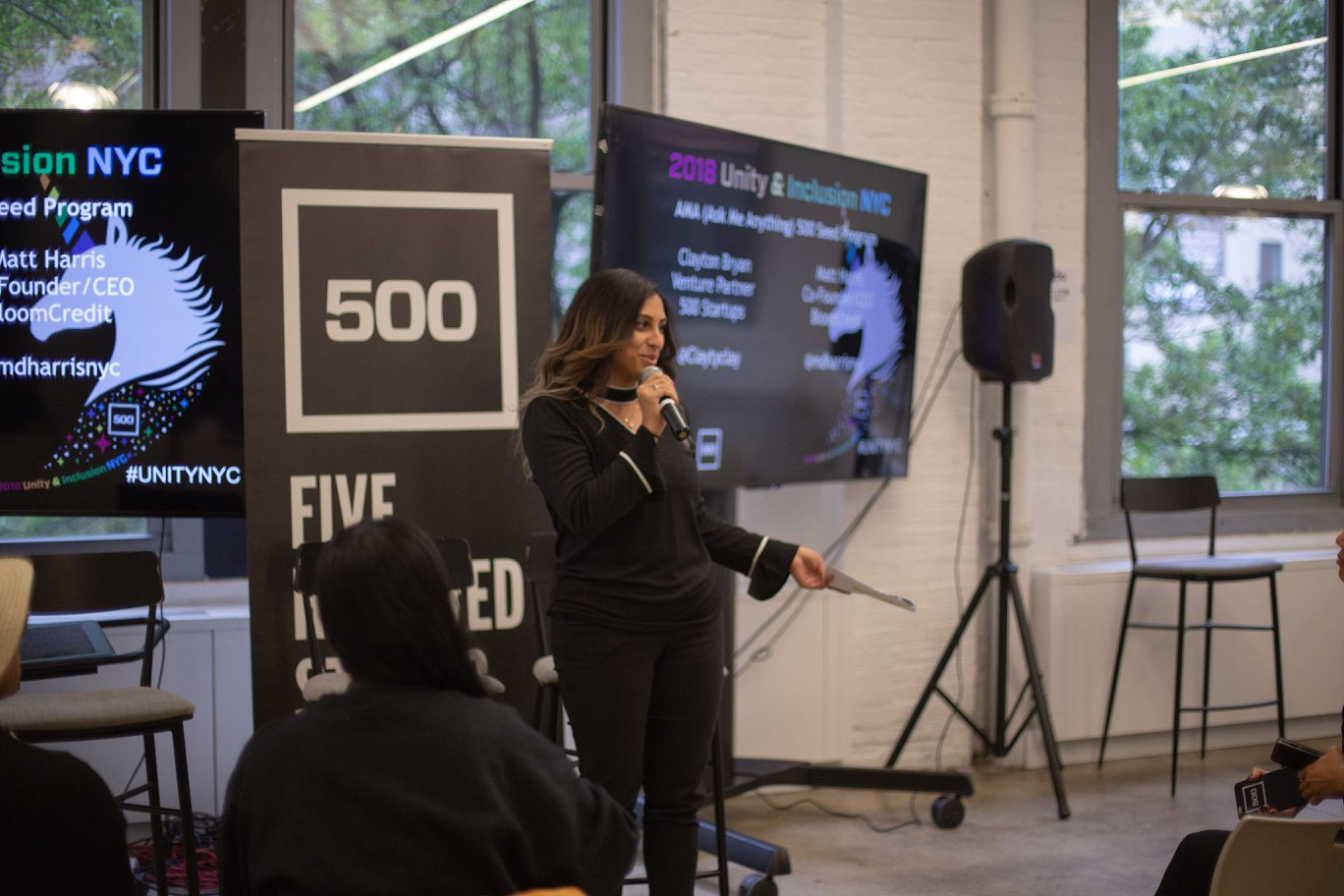 500 Startups' Unity and Inclusion Summit 2018  New York City