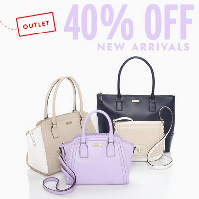 perfect purple at the kate spade outlet.