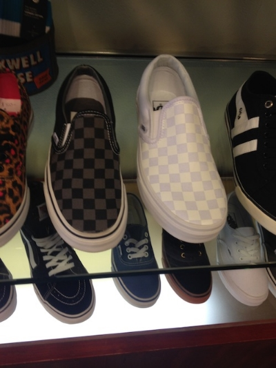 off the wall vans.