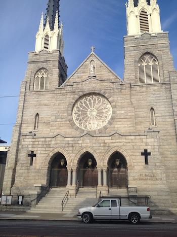 st. paul's church. noe valley. san francisco.