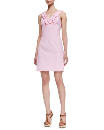 phoebe ruffle dress.