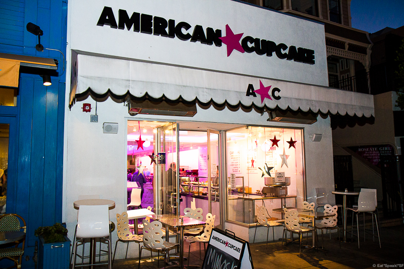 American Cupcake is located at 1919 Union Street, San Francisco, CA 94123.