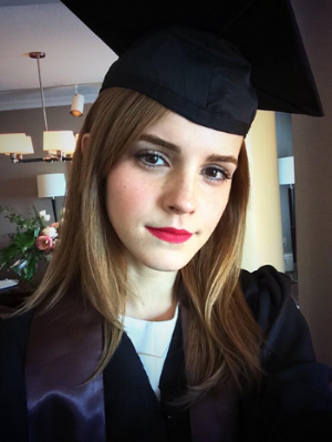 perfect selfie from the graduate!