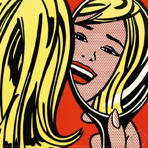Girl in Mirror. 1964.