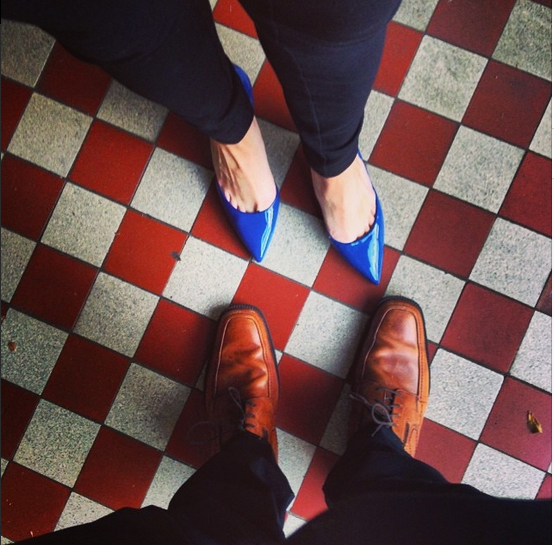 JESSE IS GETTING INTO THE #SHOEFIES. <3
