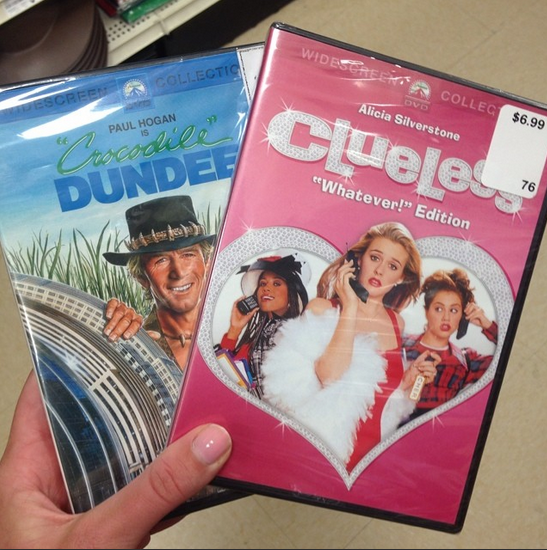 MY TWO FAVORITE MOVIES.