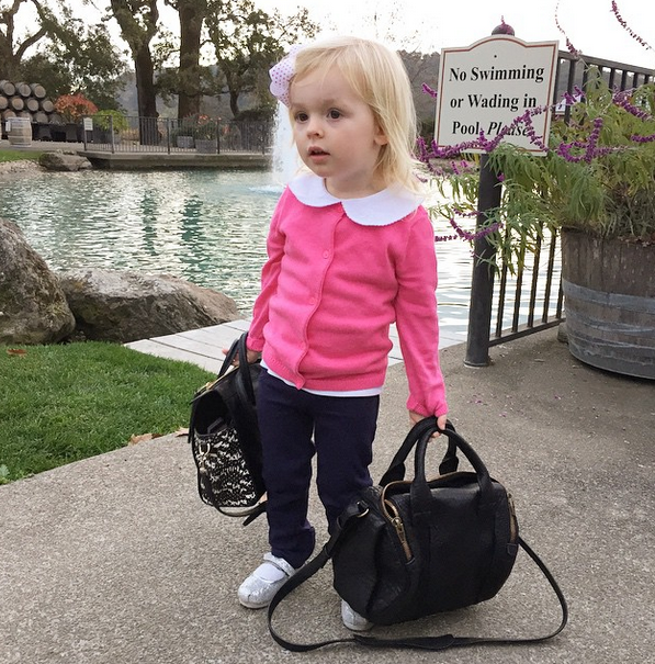 My niece Camilla posing for #fashionkids. Gotta support the little gals!