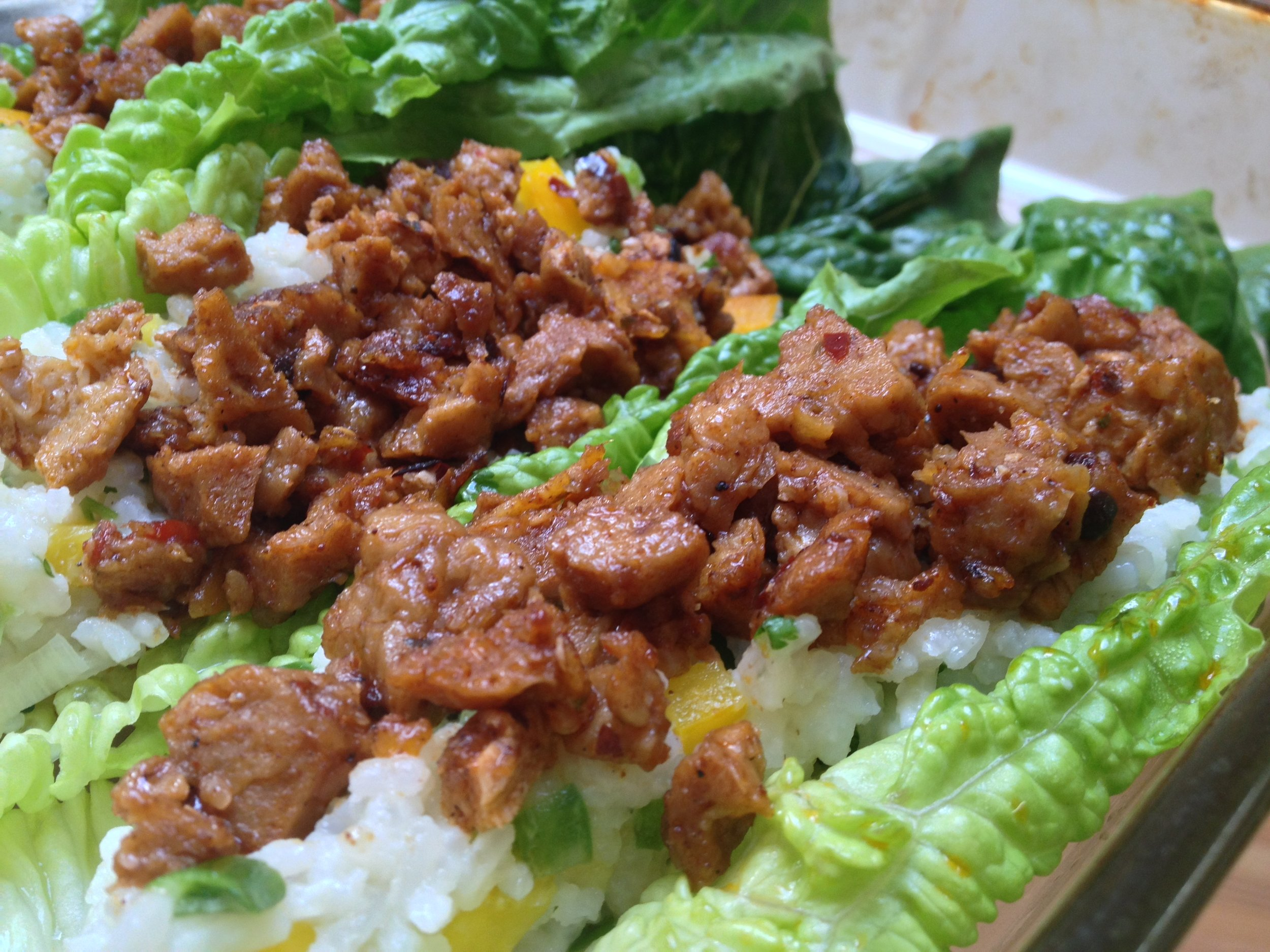 Thai Lettuce Boats