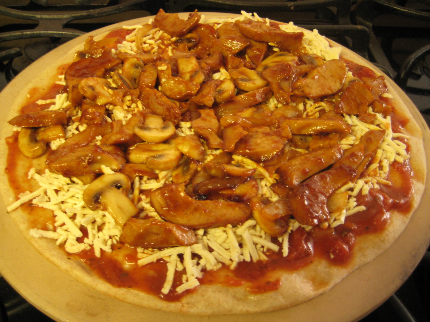 Pizza - BBQ Chick'n