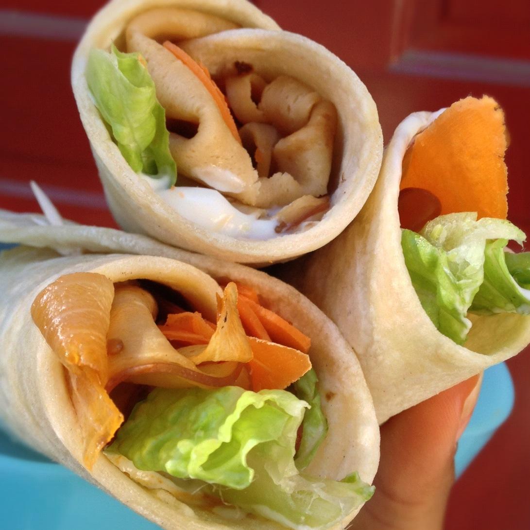 Turk'y Veggie Wraps