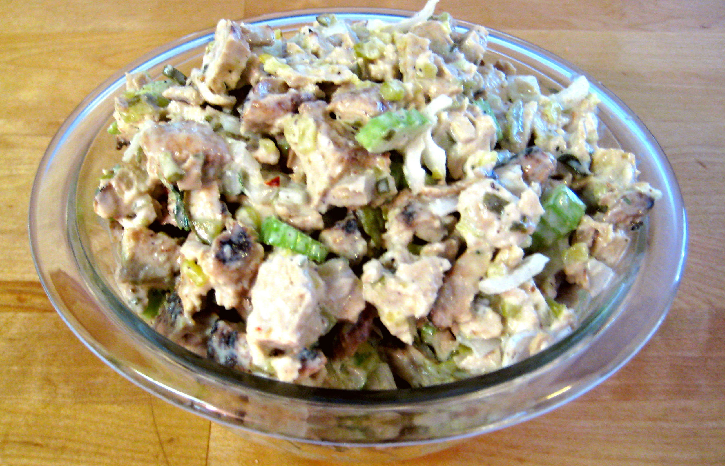 Chick'n or Tuno Salad