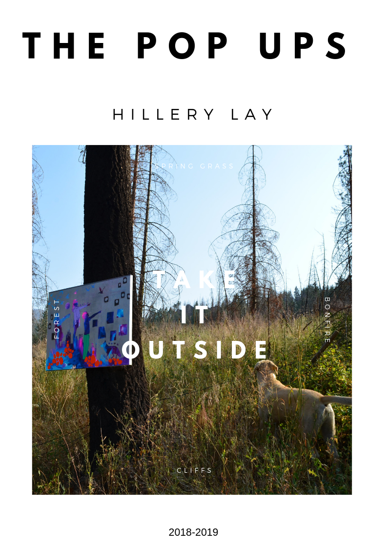 Hillery Lay is a contemporary artist living in Oregon
