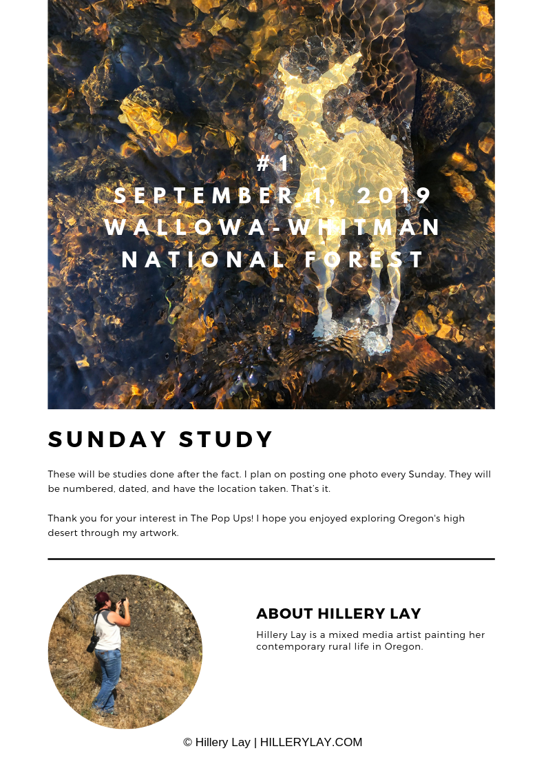 Hillery Lay is a contemporary artist living in Oregon.