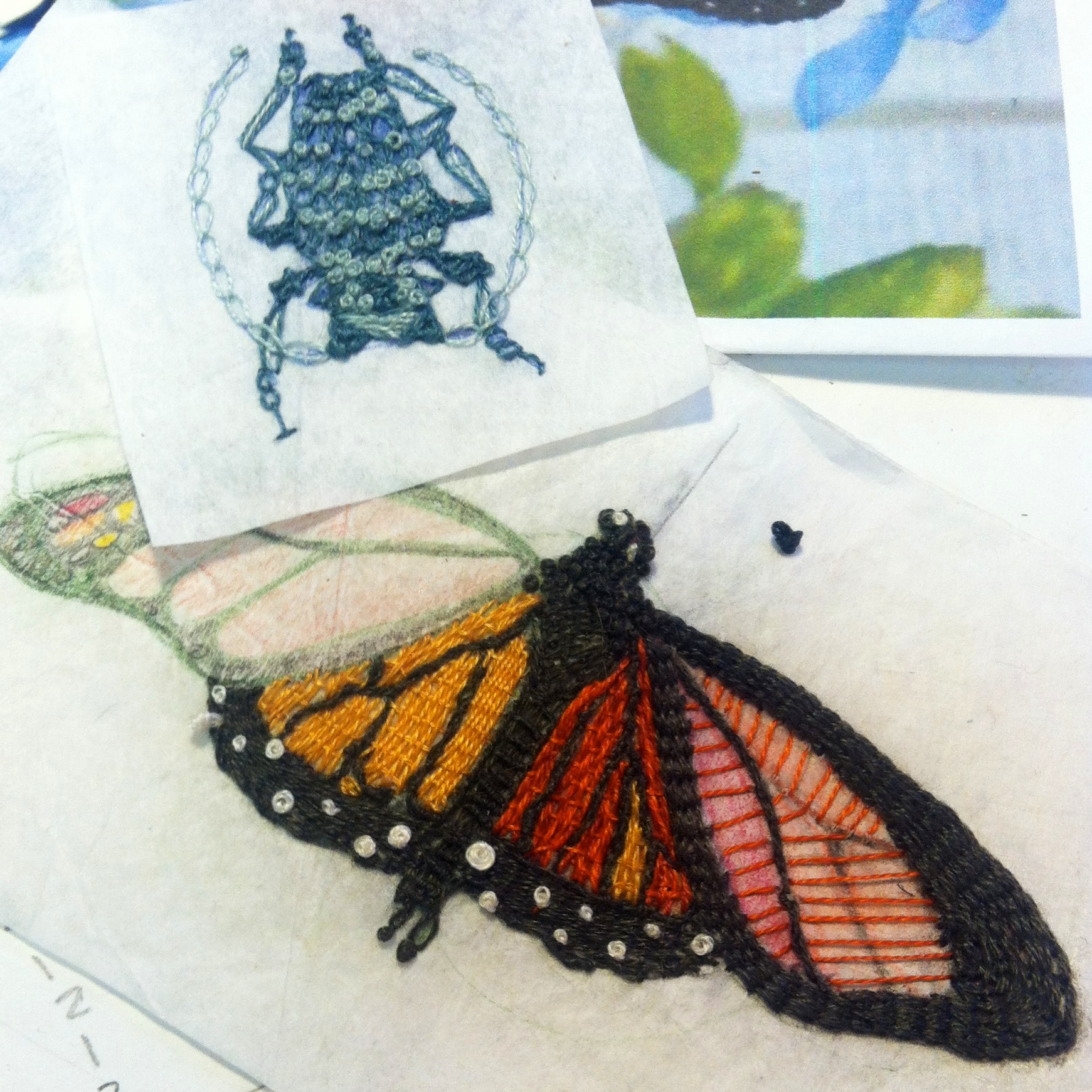 in process - stitching bugs
