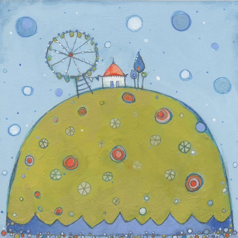 """""""Carole kept a ferris wheel in her back garden to remind her that one could always see things differently"""""""