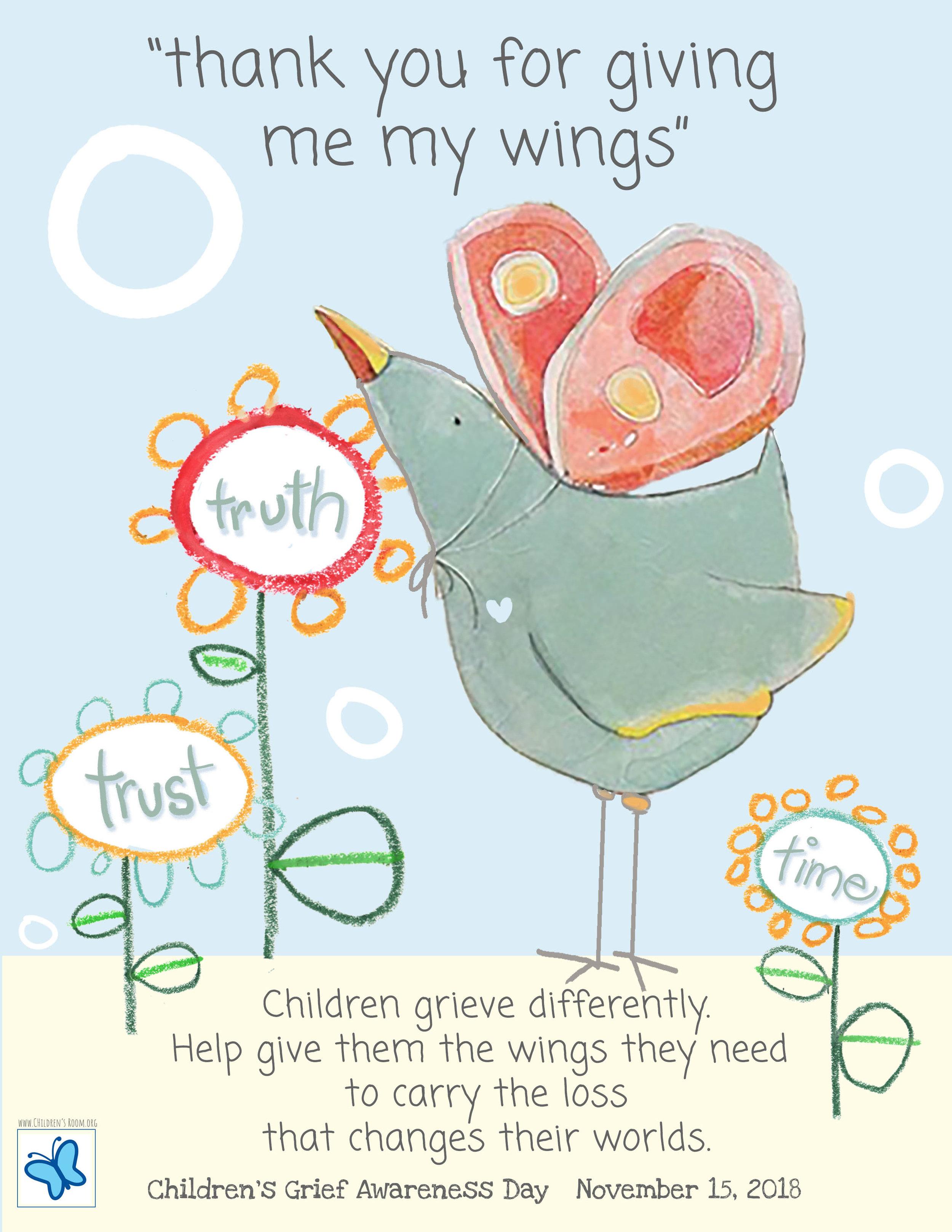 Public Service Announcement - Children's Grief Awareness Day