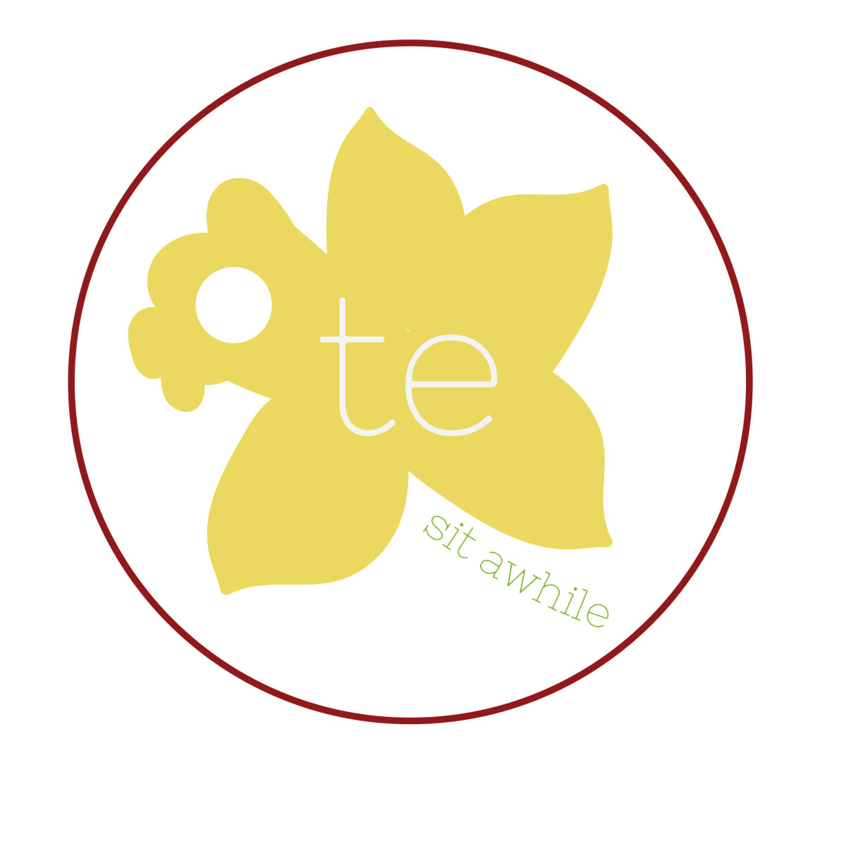 Welsh Tea Shop Logo Design