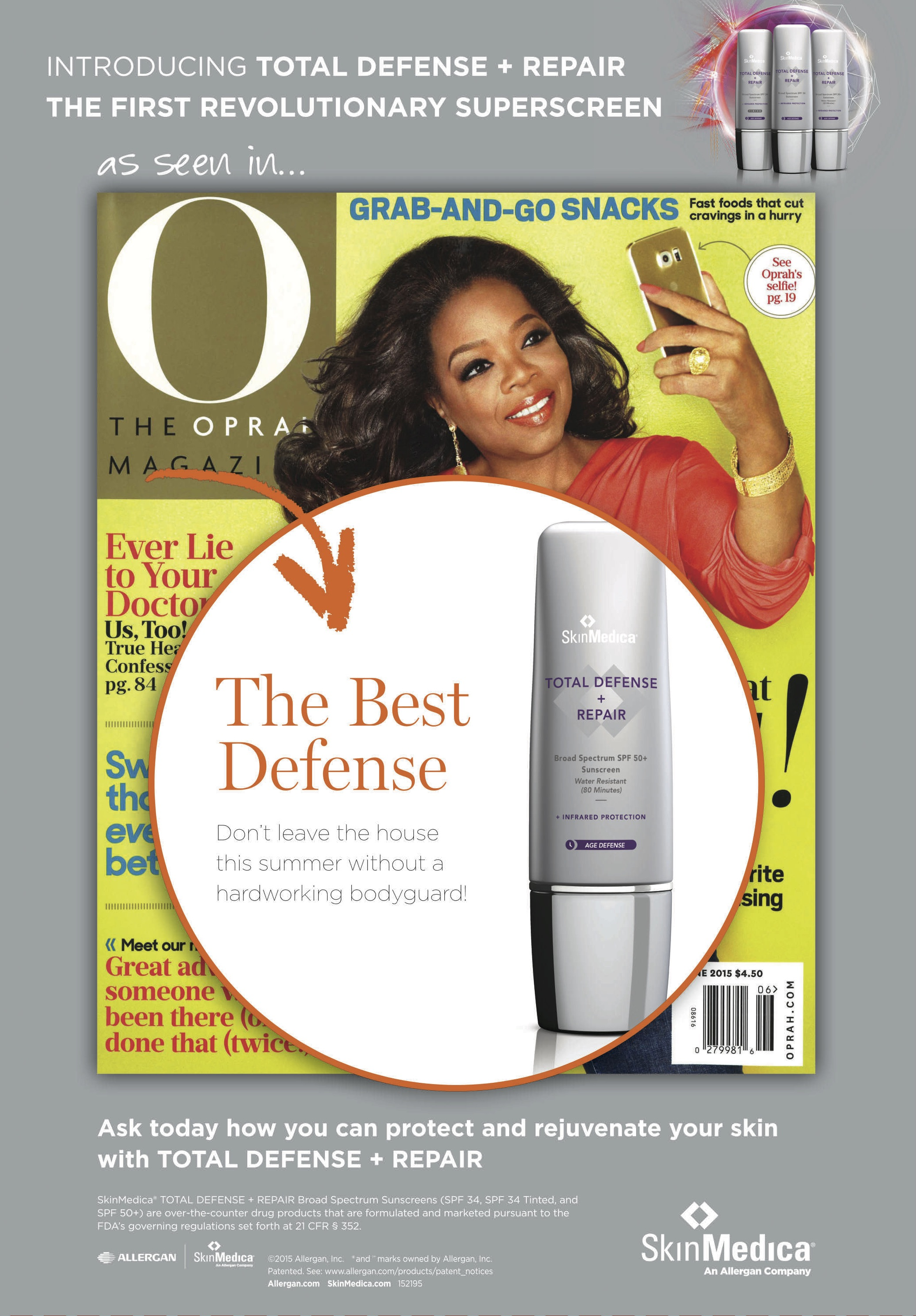 Total Defense & Repair Tent Card Oprah Magazine.jpg