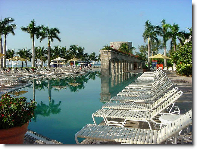Poolside - Freeport Bahamas