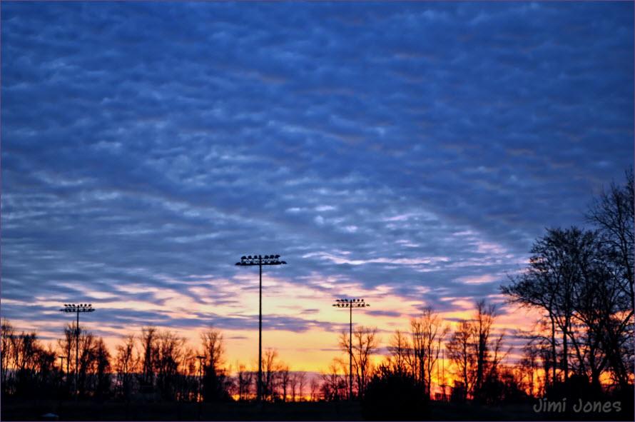 Sunrise at NWRP - HDR