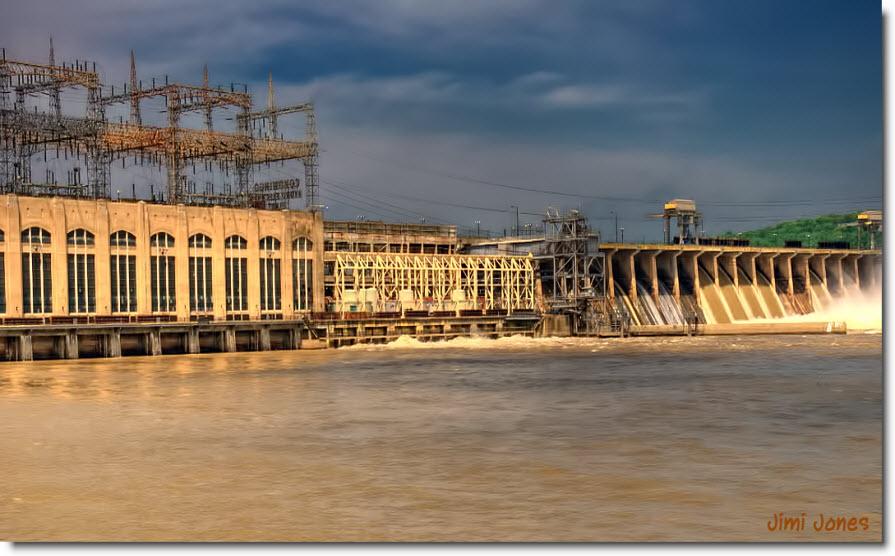 Conowingo Dam - Main Control House