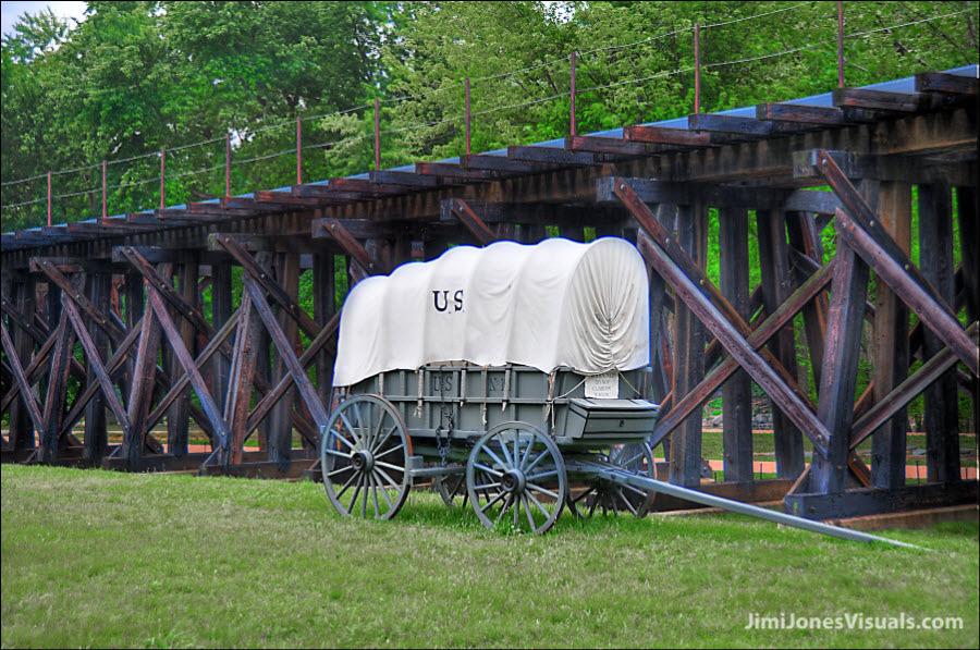 Vintage U S Wagon